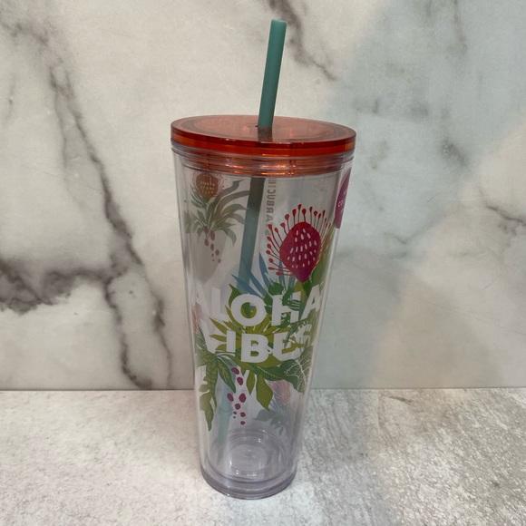 """Starbucks """"Aloha Vibes"""" Venti Tumbler"""